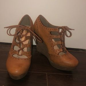 Wedge shoes - never worn!